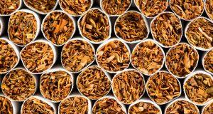 Конфискуваните цигари.