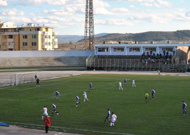 """Общински стадион """"Серафим Сънков"""", с. Върбовка"""