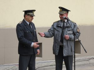 инж. Ваньо Джамбазов и комисар Красимир Кръстев