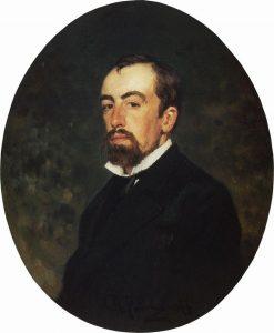 Василий Дмитриевич Поленов, художник Иля Репин