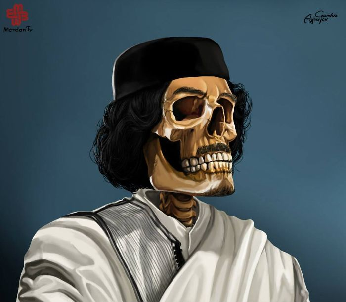 Муамар Кадафи, Либия