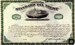 """купон """"Standard Oil"""""""
