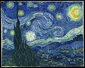 """""""Звездна нощ"""" - Ван Гог"""