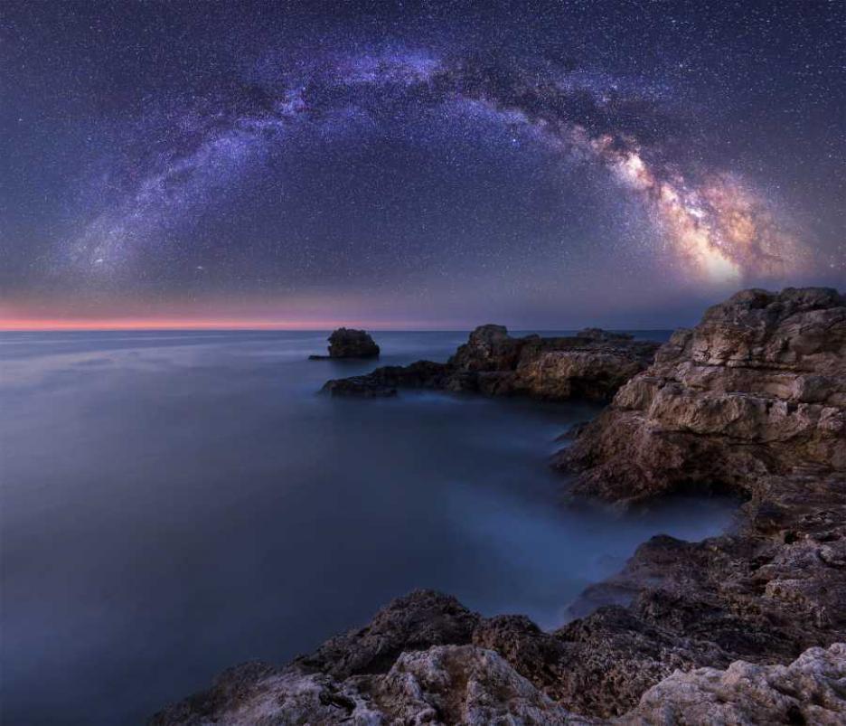 Млечният път и българското черноморие