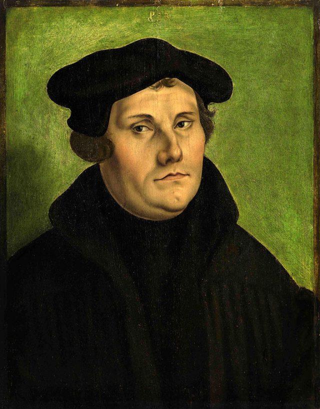 Мартин Лутер (10.11.1483 - 18.02.1546)