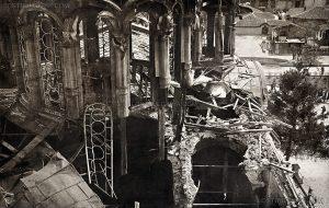 """Църквата """"Св. Неделя"""", разрушена след атентата"""